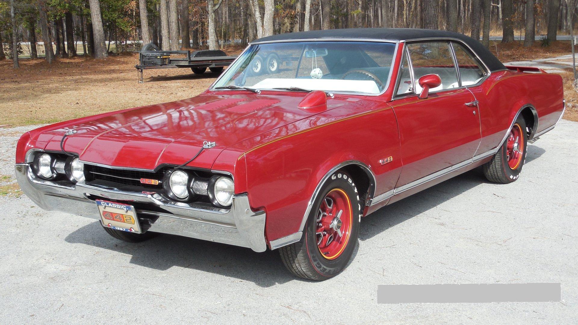 1967 oldsmobile cutlass supreme 442