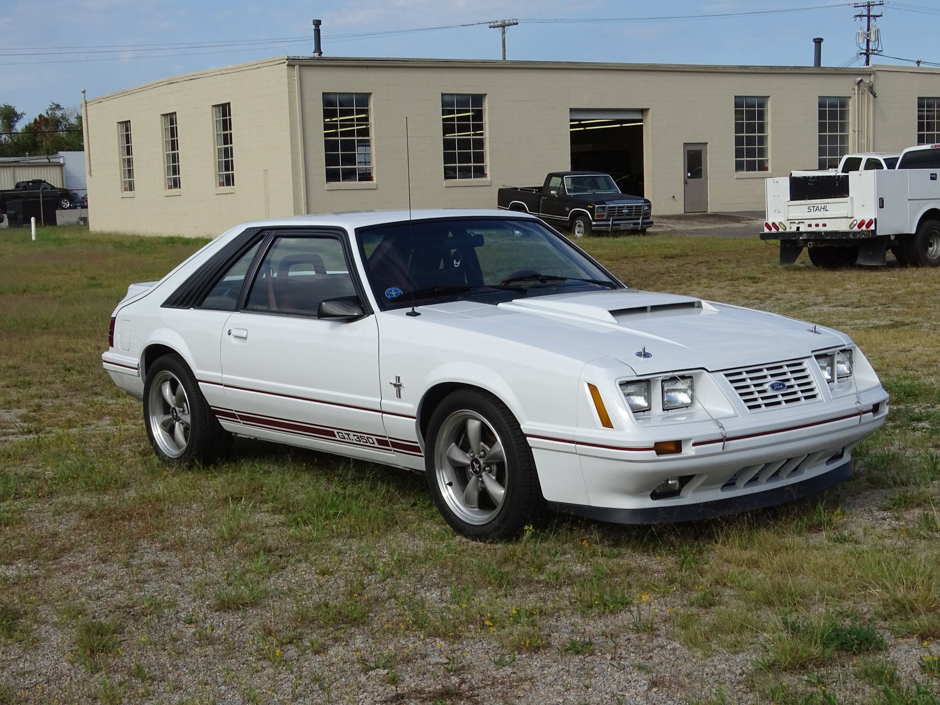 1984 ford mustang gt 350