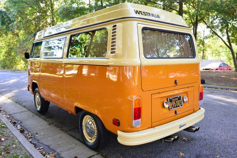 1978 volkswagen bus westfalia camper