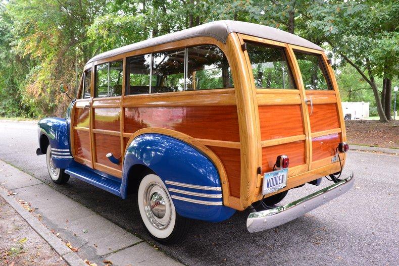 1950 chevrolet highlander woodie suburban