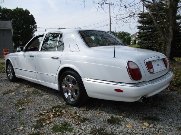 2000 bentley arnage