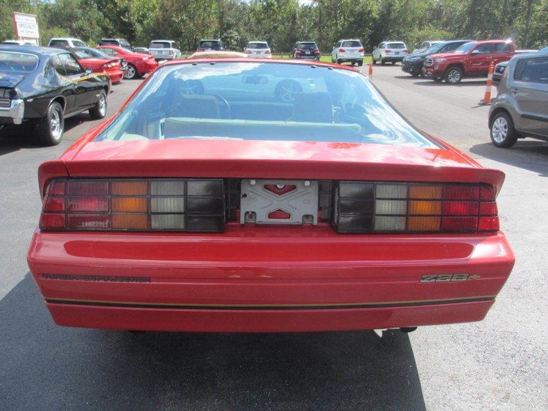 1985 chevrolet camaro iroc