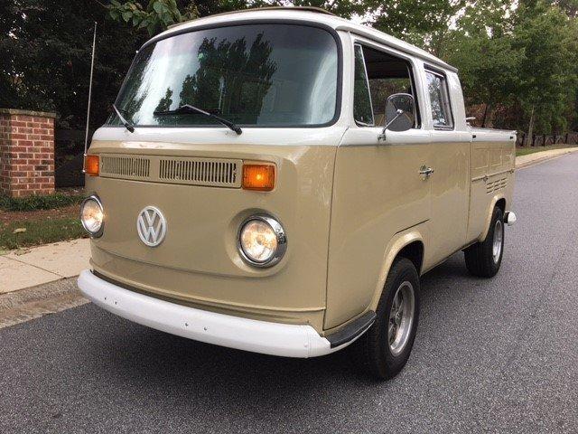 1968 Volkswagen Transporter Double Cab