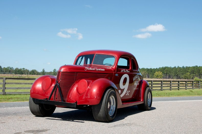 1939 ford coupe race car