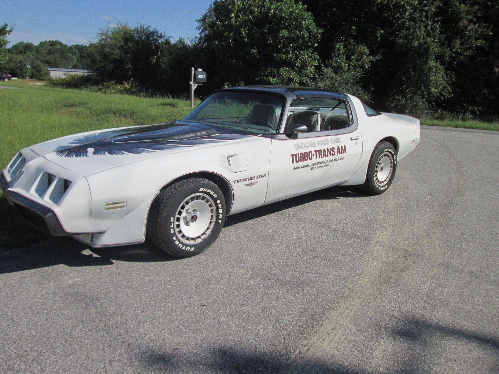1980 pontiac trans am pace car
