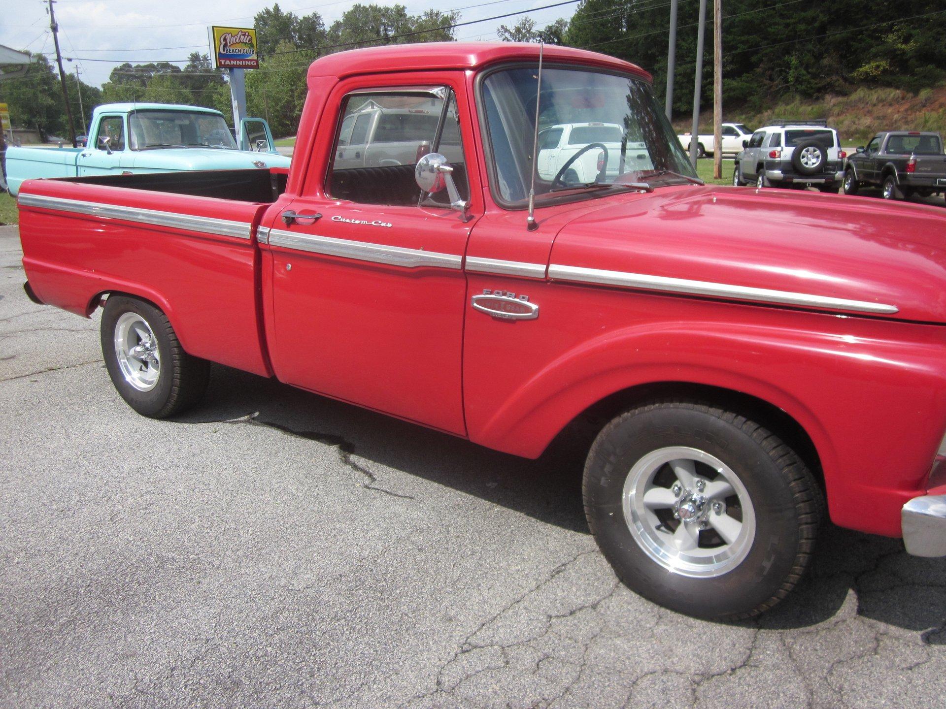 1965 ford f100 custom cab
