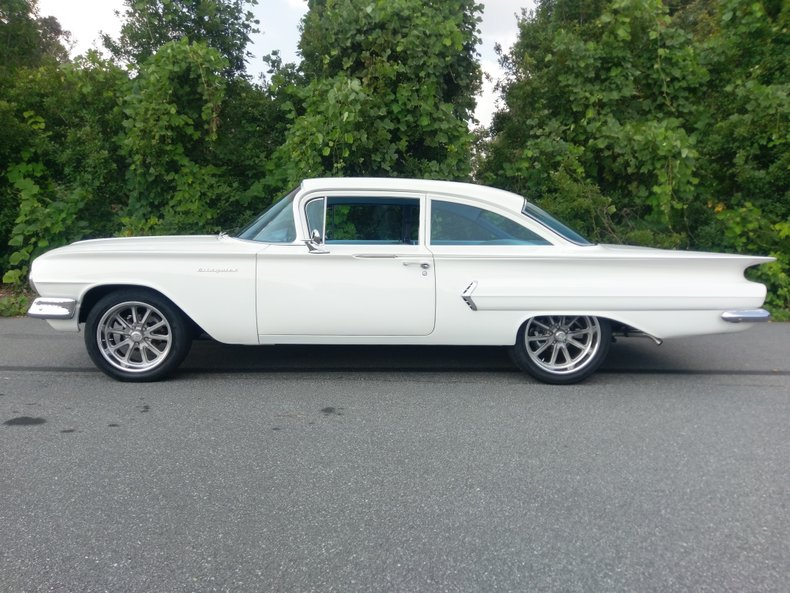 1960 chevrolet biscayne 2 door post