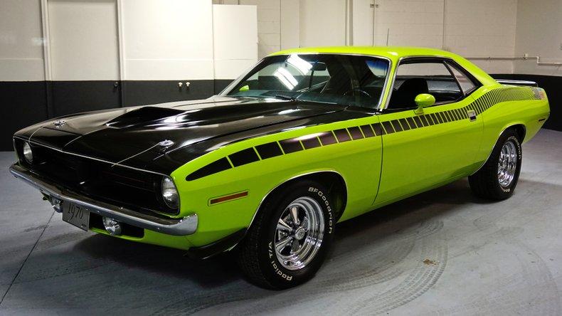 1970 Plymouth Barracuda Sport