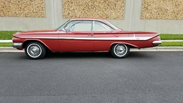 1961 chevrolet impala ss bubbletop