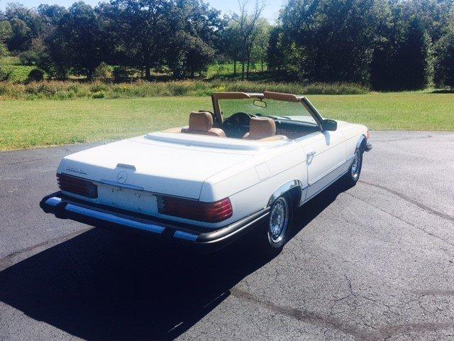 1985 mercedes benz 380 sl roadster