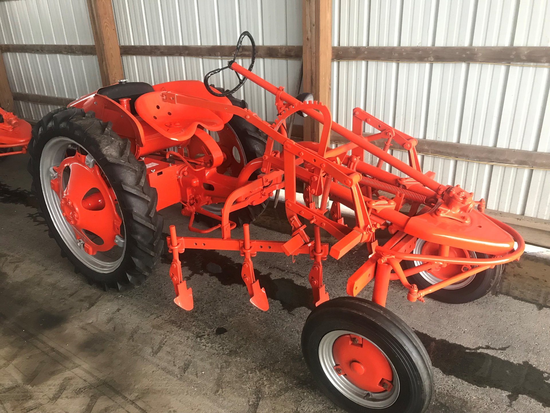1948 allis chalmers g with tillers