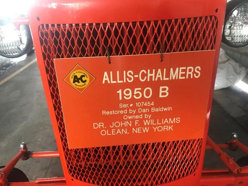 1950 allis chalmers b