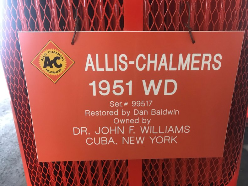 1951 allis chalmers wd