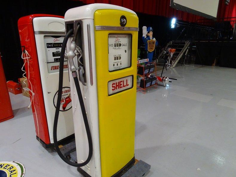 Gilbarco 996 Shell Gas Pump | GAA Classic Cars