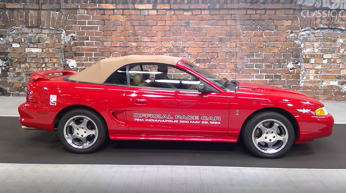 1994 ford mustang cobra gt indy pace car
