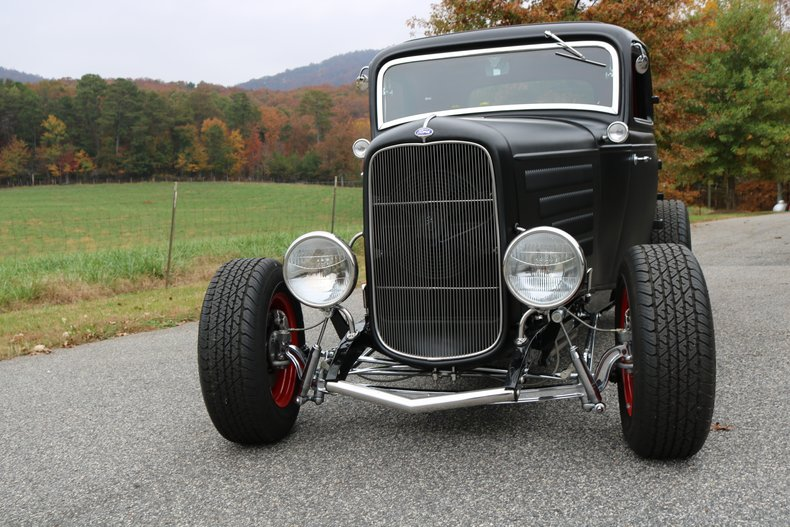 1932 ford 3 window coupe high boy