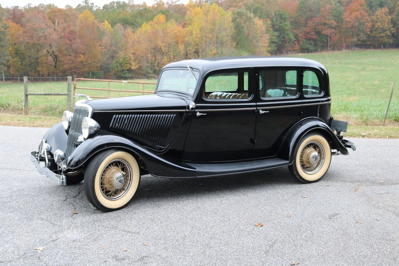 1934 Ford 4 Door Sedan Gaa Classic Cars