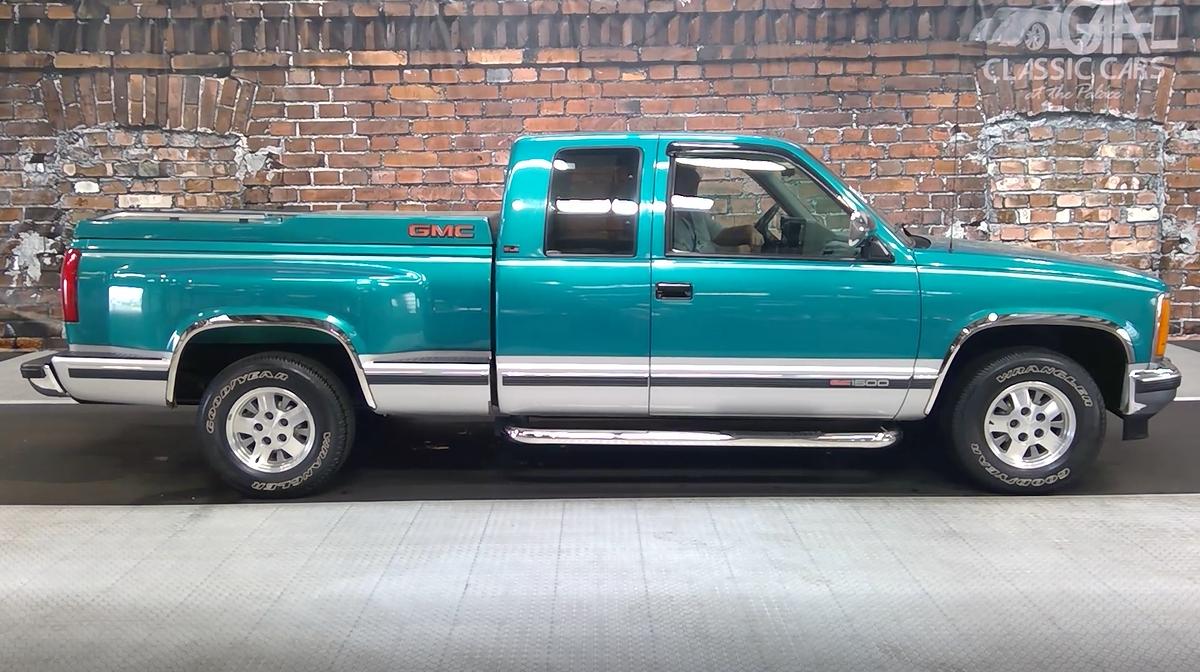 1993 gmc sierra sle