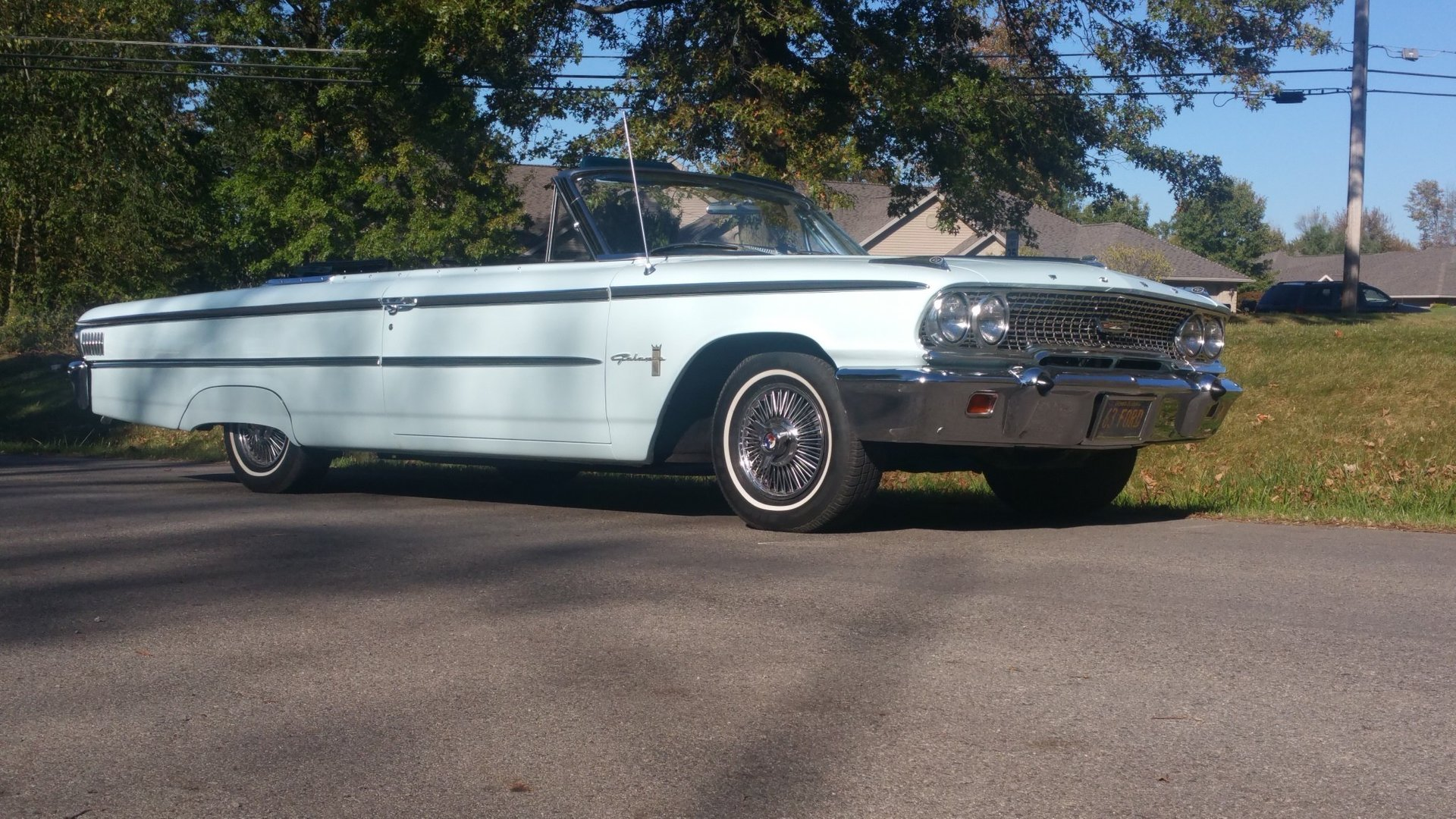 1963 ford sunliner galaxie 500