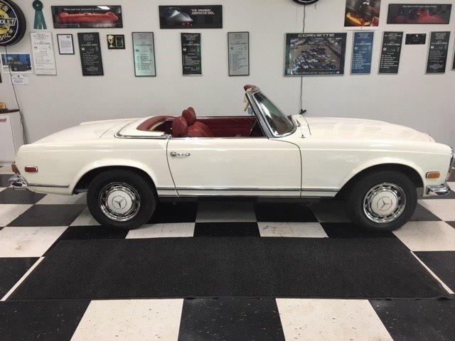 1970 mercedes benz 280 sl
