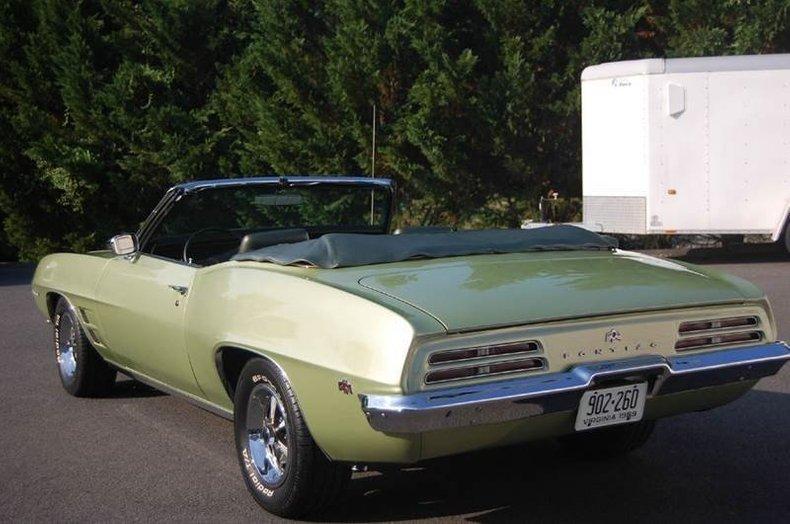 1969 pontiac firebird 350 ho