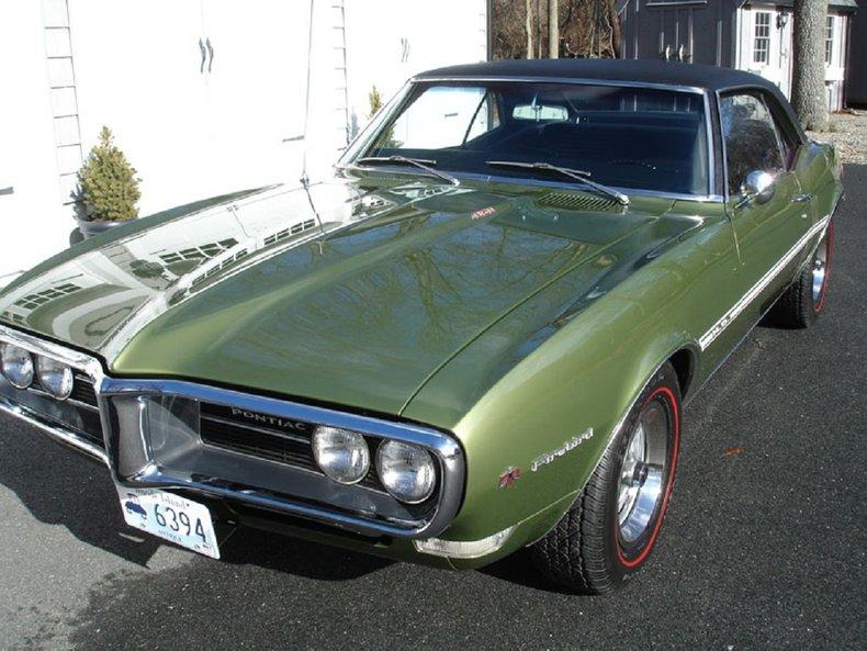 1968 pontiac firebird ho