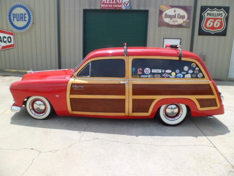 1951 ford country squire woody wagon