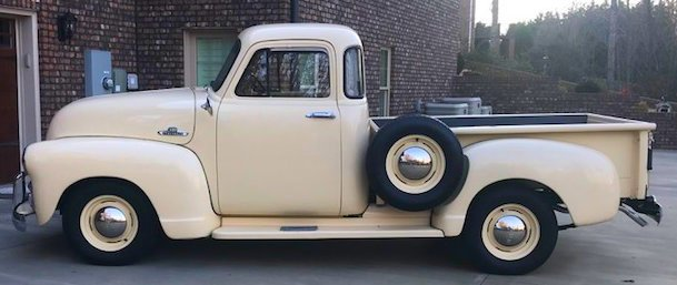 1955 chevrolet 5 window pickup