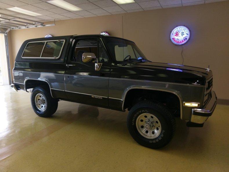 1989 chevrolet blazer k 5 1500