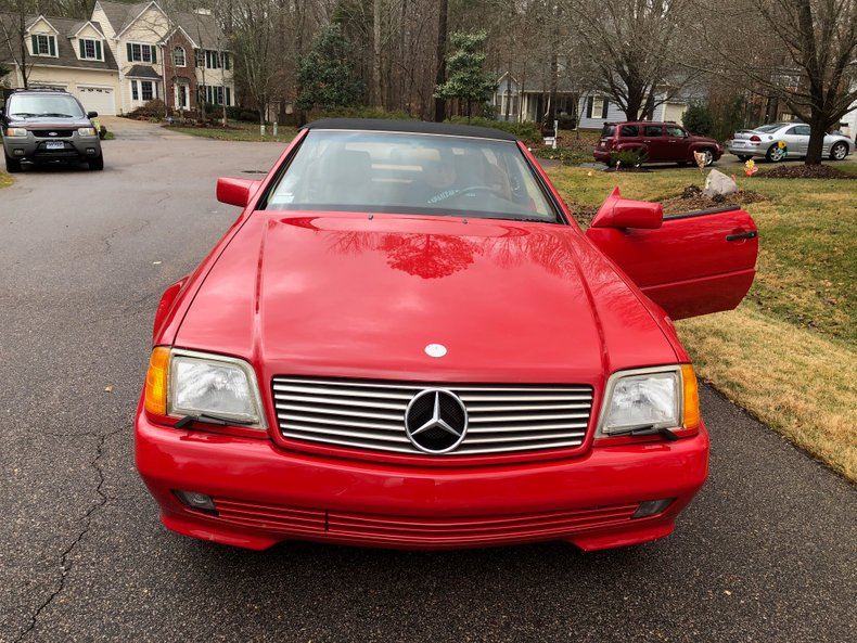 1992 mercedes benz 500 sl