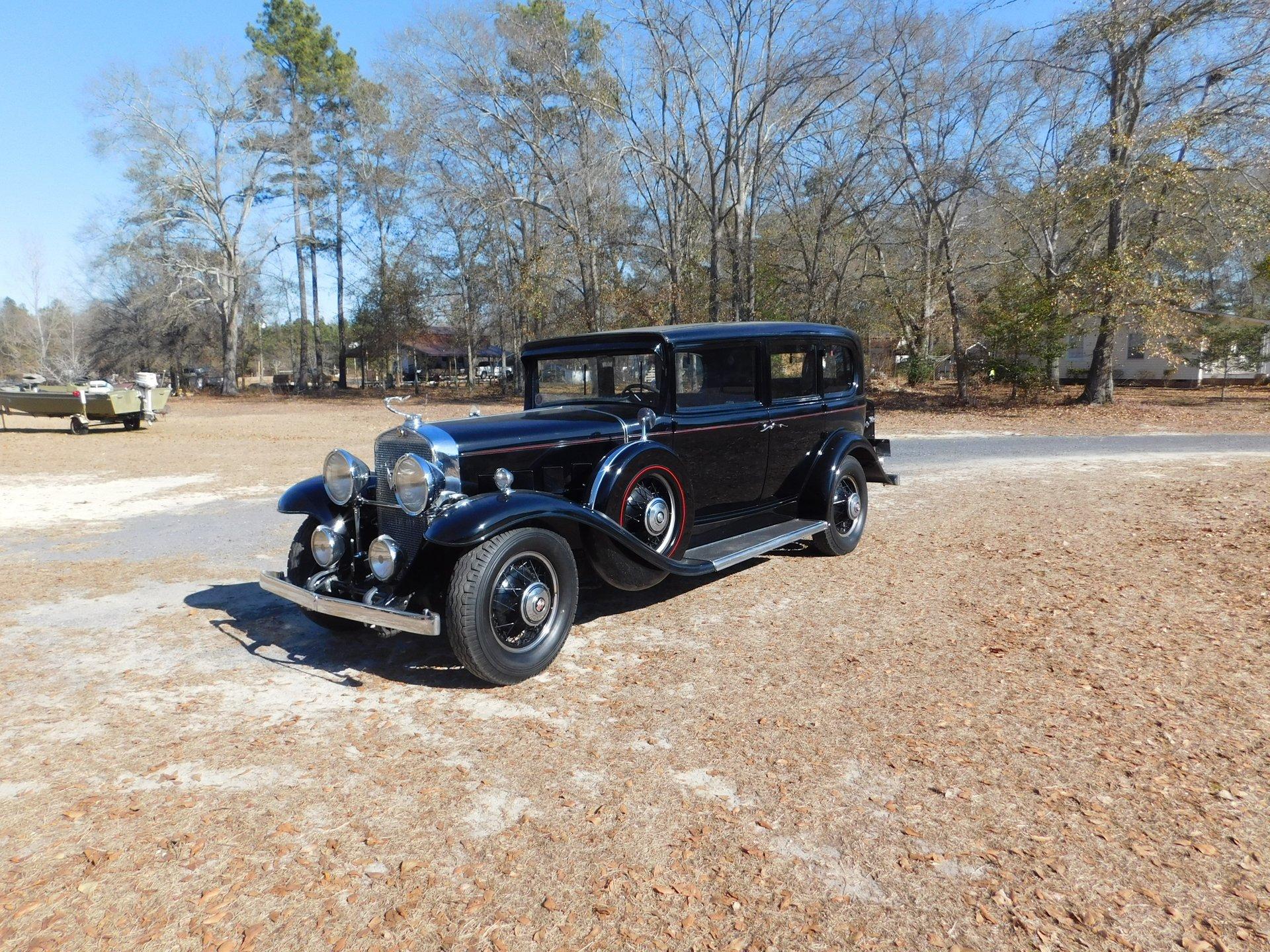 1931 cadillac fleetwood 7 passenger