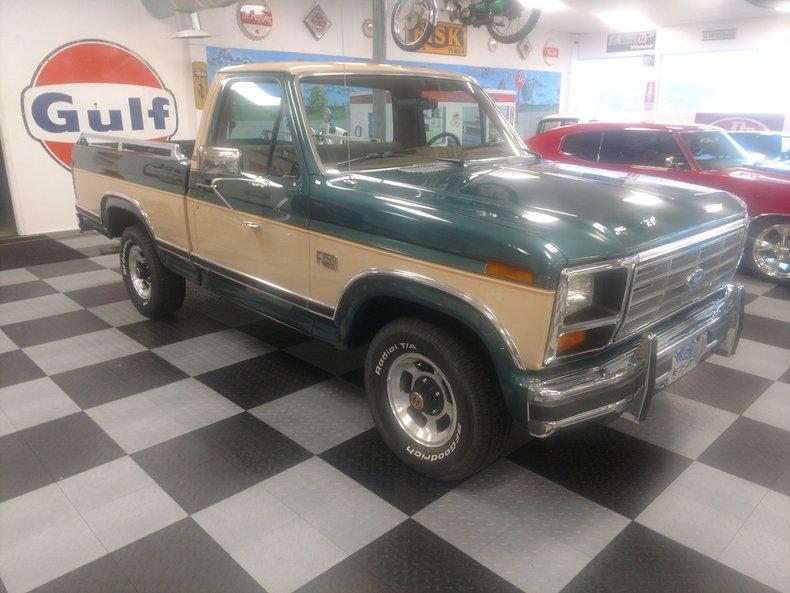 1986 ford f150 lariat xlt