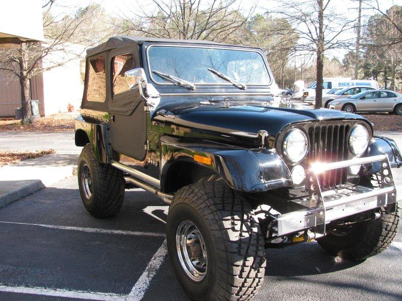 1981 jeep wrangler cj