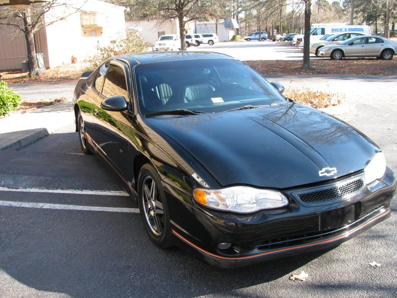 2005 chevrolet monte carlo ss supercharged tony stewart edition