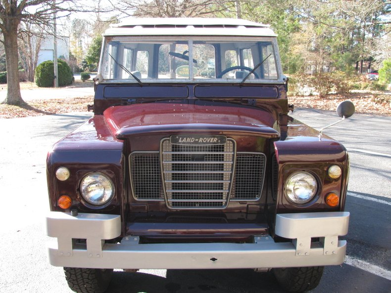 1970 land rover 88 series ii