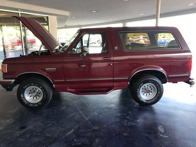1991 ford bronco silver anniversary edition