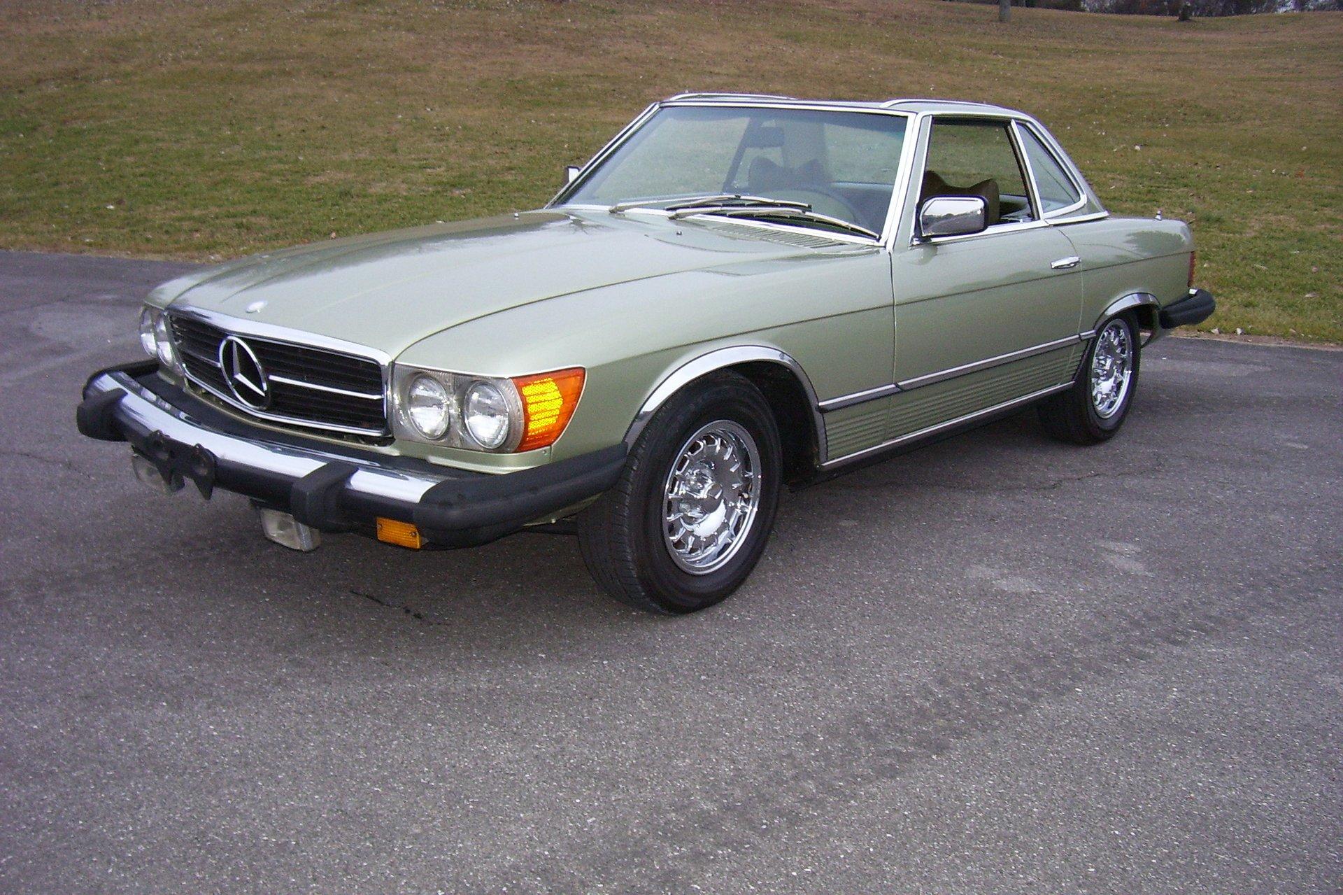 1976 mercedes benz 450 sl