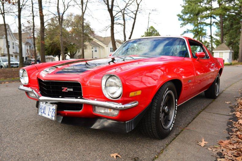 1973 chevrolet camaro z28
