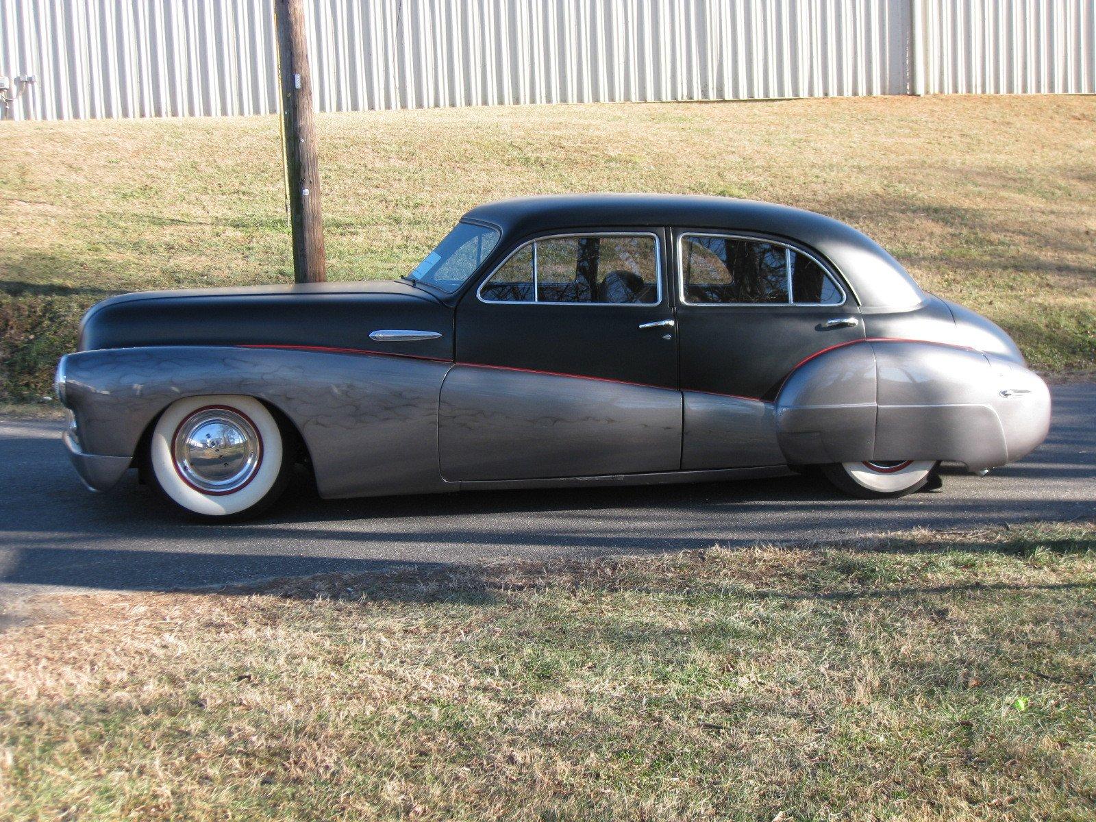 1948 buick roadmaster custom resto mod