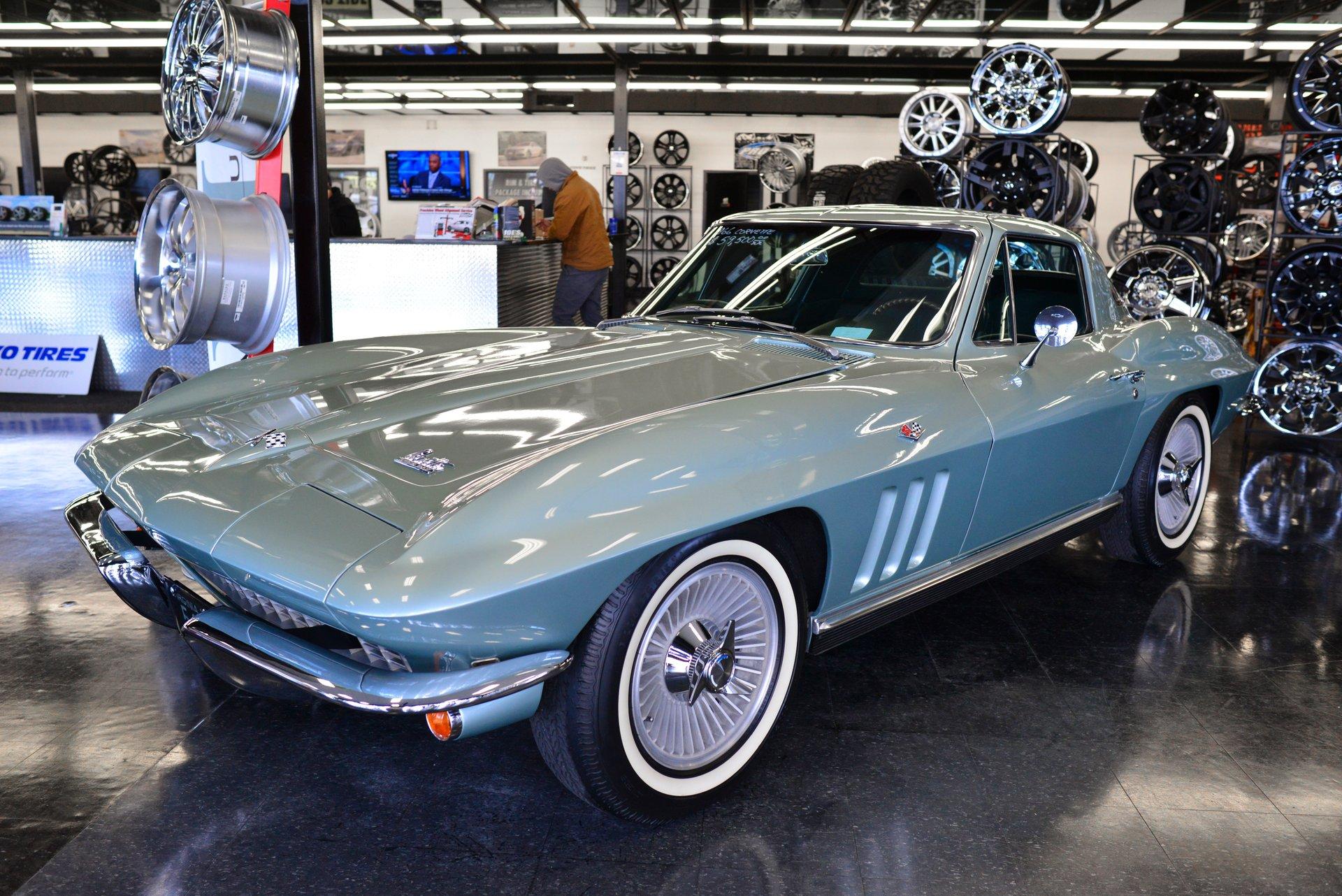 1966 chevrolet corvette sport coupe
