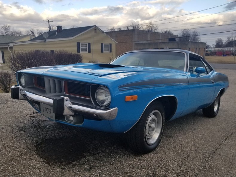 1973 plymouth barracuda 340