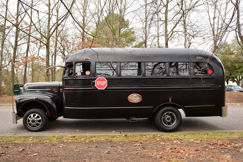 1940 ford school bus short bus custom