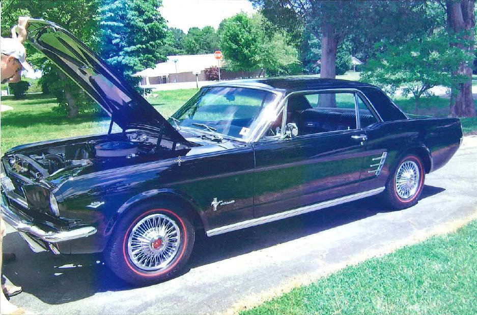 1966 ford mustang pony