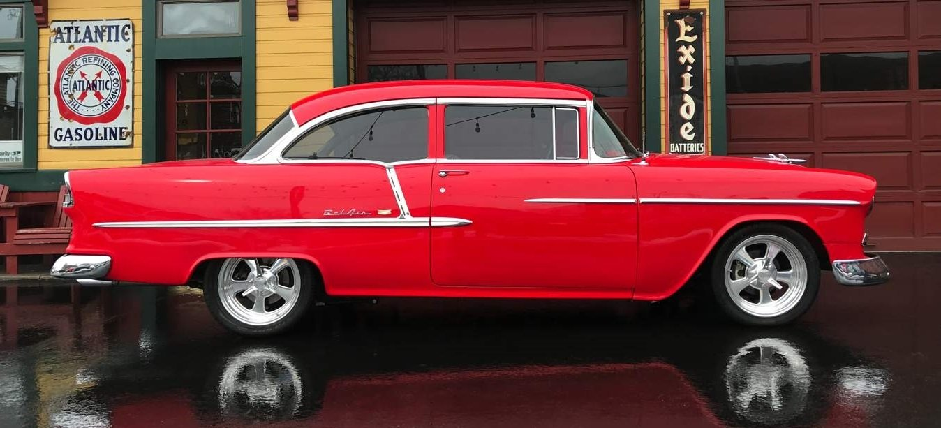 1955 Chevrolet Bel Air Gaa Classic Cars Chevy Coupe