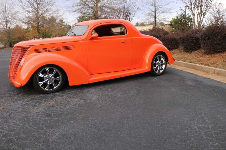 1937 ford 3 window coupe street rod