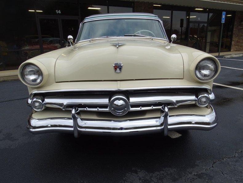1954 ford crestline skyliner hardtop
