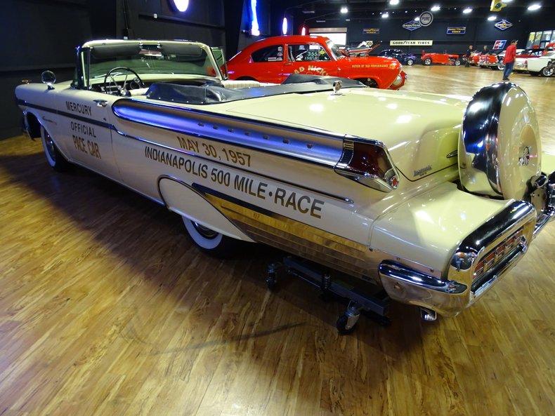 1957 mercury turnpike cruiser pace car