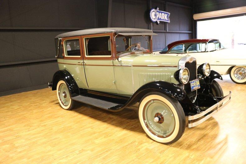1928 Chevrolet AB National Imperial Landau