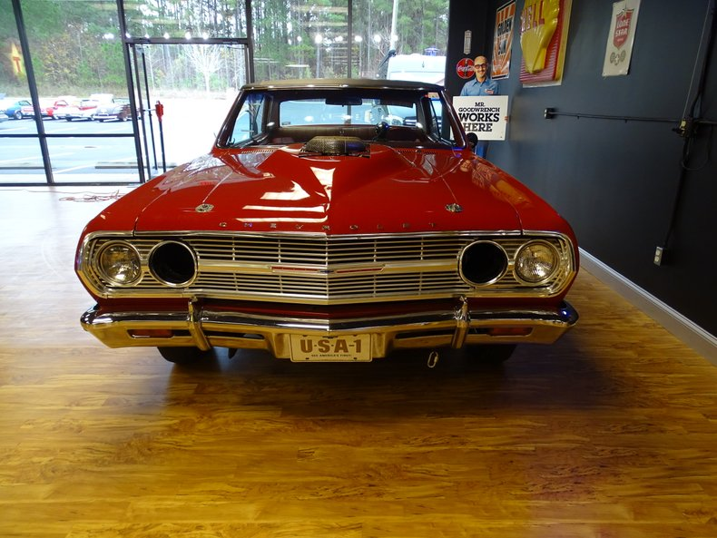 1965 chevrolet malibu custom drag car
