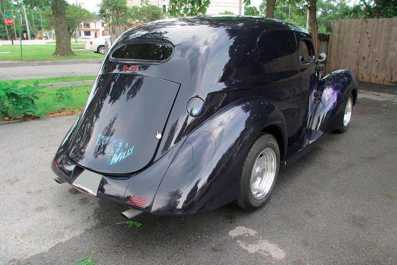 1937 willys custom sedan